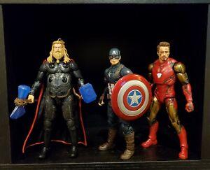 Marvel Legends MCU Endgame Iron Man, Thor, Worthy Captain America Loose Lot