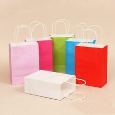 2 PCS Party Supplies Recyclable Gift Case Shopping Bag Kraft Paper Candy Box