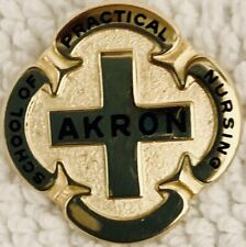 Akron (Ohio) School Of Practical Nursing Pin