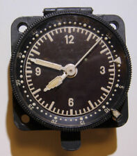 WW2 Luftwaffe Single Engine Aircraft Type Clock - ME-109  FW-190 - Working