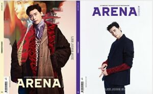 Arena Homme+ Korea 2021 October Lee Jong-Suk Random Cover Whole Magazine