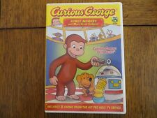 Curious George Robot Monkey and Other Great Gadgets - 2009 Universal Dvd Good!