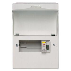 Wylex NMRS506L Amendment 3 Metal 5 way Consumer Unit 100A 30mA RCD