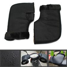 2x Waterproof Motorcycle Grip HandleBar Muff Winter Warmer Thermal Cover