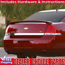 2006-2013 Chevy IMPALA SS Factory Style Spoiler Rear Wing Fin UNPAINTED ABS