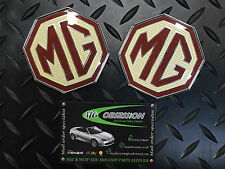MG TF pare-chocs avant et Boot lid badge set. Genuine MG produit DAB000160