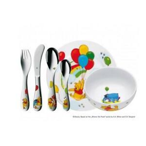 WMF Kinder Set 6 tlg.Winnie The Pooh Walt Disney Besteck Geschirr Spülmaschine
