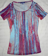 New Vivienne Tam nylon top, lined, size S