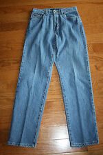 Calvin Klein Stretch Easy Fit Double Stone Wash Size 8 Jeans 30 X 32 (A8)