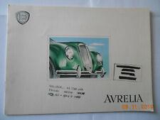 LANCIA Aurelia : Berlina, Cabriolet, Pinin Farina, Luxusprospekt, ca. 1952