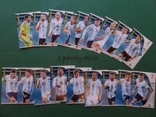 Panini RUSSIA 2018 Fifa World Cup all 18 Team Mates Argentina Messi Adrenalyn 18