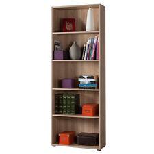 Libreria alta in kit ufficio studio cinque vani rovere sonoma LB2886 L70h197p30