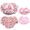 Baby Girls Ruffle Lace Cotton PP Pants Shorts Bloomer Toddler Diaper Nappy Cover