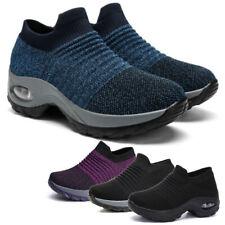 Damen Casual Running Schuhe Luftkissen Turnschuhe Outdoor Atmungsaktiv Sneaker