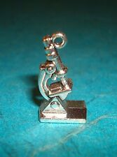 Pendant Microscope Charm Science Charm Doctor Charm Research Charm Scientific