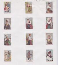 Série petites étiquettes   Allumettes   Suède BN22727 Homme Femme Costumes