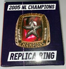 HOUSTON ASTROS CHAMPIONS REPLICA RING 2005 RARE & EXCLUSIVE ITEM