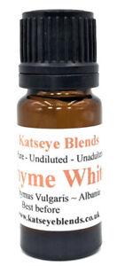 Thyme White Essential Oil x 10ml Therapeutic Grade 100% Pure