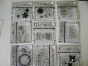 Stunning Selection of Dreamees Clear Stamps. Choice of 9 Designs. (B164)