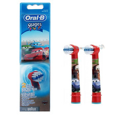Braun Oral-B EB10-2 Stages Power Disney Car Replacement Brush Heads 2EA