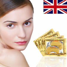Under Eye Mask Collagen Gold Crystal Dark Circles Anti Wrinkle Ageing Eyelid Pad