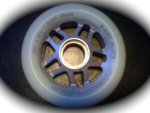 nagelneu ... ... **  1x Inline-Wheel 76mm//82A *NEU* - ohne Kugellager