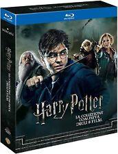 Blu Ray Harry Potter ⚠️ La Collezione Completa - (8 Film 8 Blu Ray-Disc) ⚠️ .NEW