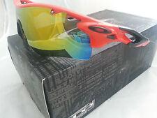 Oakley Sunglasses Radarlock Path Red/ Fire Iridium Lens 9181-09 NEW AUTHENTIC