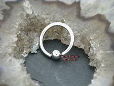 Ball closure ring 1,6mm oreja pecho nariz tabique Tragus augenbrau Helix Intim