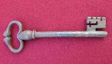 CLE ANCIENNE CLEF KEY SCHLÜSSEL CHIAVE LLAVE  キー ( cl17.11.22.2 )