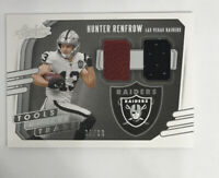 Hunter renfrow!! Tools Of The Trade.!! #35/99!! (Jersy,ball) Absolute 2020