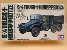 1/35 TAMIYA - GERMAN 6x4 TRUCK KRUPP PROTZE Model Kit Armor WWII TANK Military