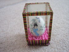 Chinese egg in display cabinet-case,hand painted,,