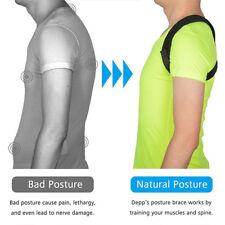 Reglable Correcteur Epaule Dos Arrière Posture Entretoise Ceinture Sangle Yoga