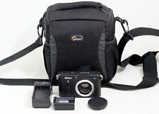Nikon 1 1 V1 10.1MP Digital Camera BLACK Body with ONLY 4K SHUTTER COUNT