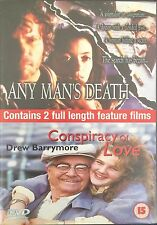 2 Full Length Movies - Any Mans Death / Conspiracy Of Love (DVD) Free Post