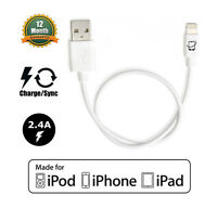 DJI Inspire 1 and Phantom 4 Compatible Apple Certified Lightning Cable - 13 Inch