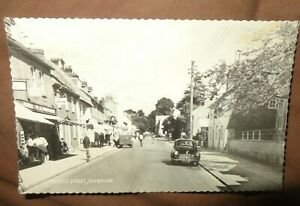 Postcard of North Street Wareham REAL PHOTO VALENTINES C1960 C2