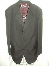 Three Button Wool Blend Formal Jackets for Men