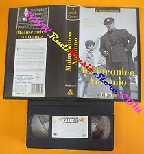 VHS film MALINCONICO AUTUNNO Raffaello Matarazzo MONDADORI 04143 (F118) no dvd