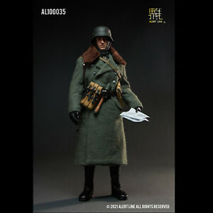 Alert Line AL100035 1/6 WWII German Army Officer Solider Male Action Figure