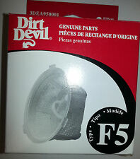 2 Filters, GENUINE DIRT DEVIL F5, Part 3DEA950001
