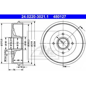 ATE 24.0220-3021.1 - Bremstrommel