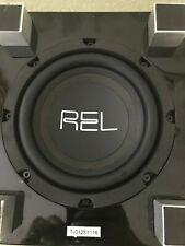REL Tzero Subwoofer in piano black. Superb condition and in original packaging