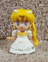"Vtg 1992 Sailor Moon Mini PVC Banpresto Bandai Princess Serenity 2.5"" Figure"