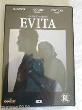 DVD - EVITA - AVEC MADONA / ANTONIO BANDERAS  -  D33