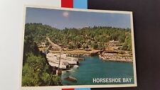 Horseshoe bay British Columbia Ferries  Canada Postcard Post card