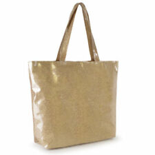 Polyester Gold Large Bags & Handbags for Women