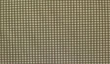 """PAULETTE LINEN BEIGE GINGHAM PLAID WOVEN FURNITURE MULTI FABRIC BY THE YARD 54""""W"""