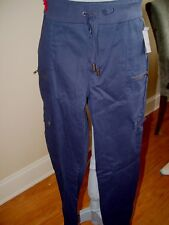Apostrophe New Cargo Pant Solid Blue Size 8
